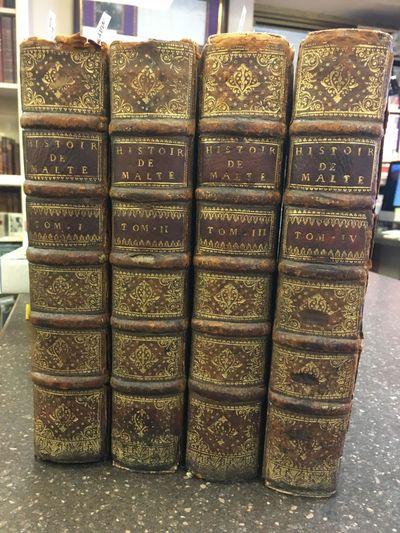 Paris: Chez Rollin, Quillau, Desaint, 1726. First Edition. Hardcover. Quartos, 4 volumes; VG-; bound...