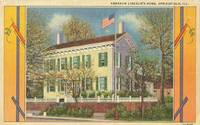 Abraham Lincoln's Home, Springfield, Illinois unused linen Postcard