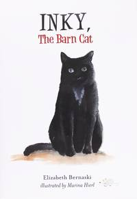 image of Inky, the Barn Cat