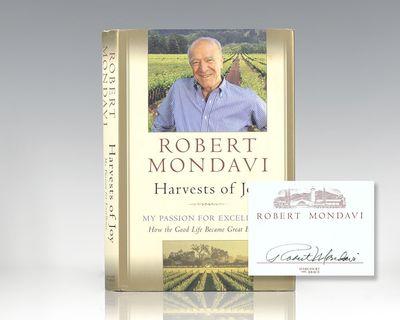 New York: Harcourt Brace & Company, 1998. First edition of Mondavi's autobiography, the godfather of...