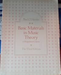 Basic Materials in Music Theory (A Programed Course)