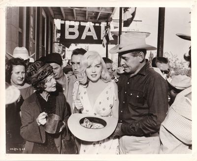 Beverly Hills, CA: United Artists, 1961. Vintage reference photograph from the 1961 film, showing ac...