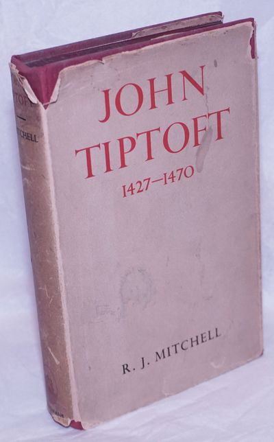 London: Longmans, Green and Co, 1938. Hardcover. xi, 263p., frontispiece photo of Tiptoft's effigy a...