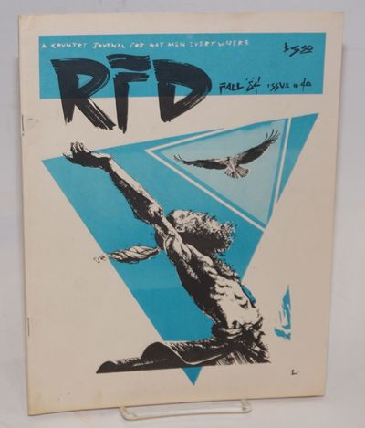 Bakersville, NC: RFD, 1984. Magazine. 64p., 8.25x10.5 inches, poetry, editorials, photos, art, very ...