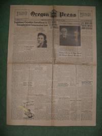 Oregon LABOR Press, PORTLAND, OREGON, FRIDAY, JANUARY 20, 1939 (Legislature Considers Amendment...