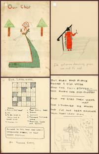 Our Chat - Charming Stories and Drawings for and by Children [Works by Children, Children's Periodicals]