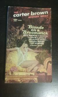 Blonde on a Broomstick