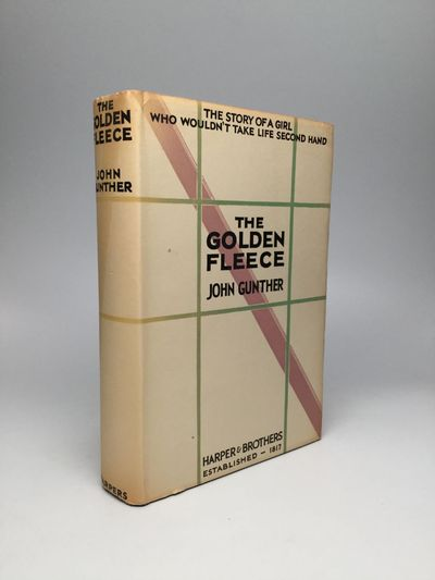 New York and London: Harper & Brothers, 1929. First Edition. Hardcover. Near fine/Near fine. The fou...