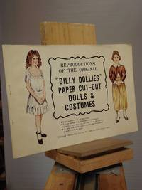 """Reproductions of the Original """"Dilly Dollies"""" Paper Cut-Out Dolls and Costumes"""