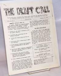 The Draft Call. Vol. 1 no. 2 (January 27, 1968)