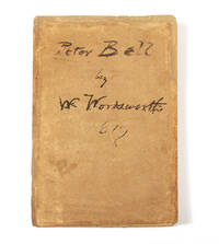 Peter Bell, A Tale in Verse [Wm. Rossetti's Copy, Signed]