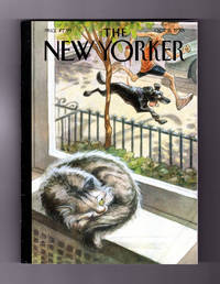 The New Yorker - October 5, 2015.  Peter de Sève Cover, 'Catnap'. Tim Parks Fiction, 'Vespa'. The Dad Restaurant; Uncreative Writing; Iraq's Women; Jorge Ramos; Paper Airplanes from New York Streets; A Daughter's Death