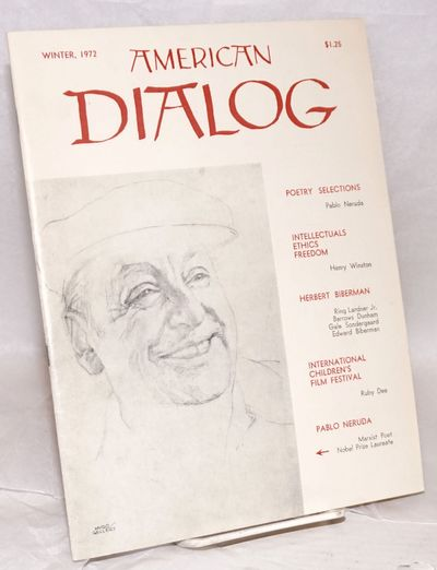 New York: Dialog Publications, 1972. 38p., wraps, 8.5x11 inches, wraps lightly worn else very good c...