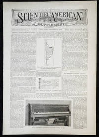 image of Scientific American Supplement -- No. 1036, Nov. 9, 1895 [Rivoire's apparatus for registering music]