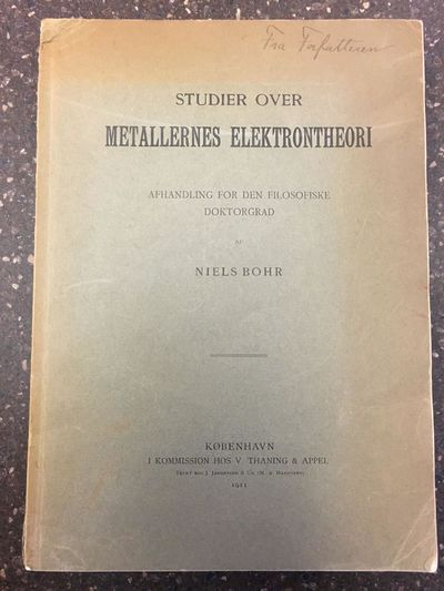 København : Thaning & Appel, 1911. First Edition. Softcover. Large Octavo, , 120 pages; VG; bound i...