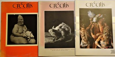 Paris: Creatis ( 1981-1982), 1981. Issues 16, 17, and 18, 1981-1982, of this important French photog...