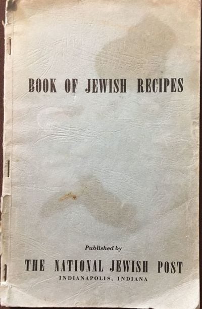 Indianapolis: The National Jewish Post, 1942. First Edition. Wraps. Good +. First edition. 8vo; 112p...