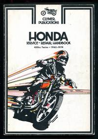 image of Honda Service - Repair Handbook 450cc Twins 1965 - 1974
