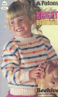 image of PATONS : SMALL THINGS BRIGHT & BEAUTIFUL : Beehive Shetland Chunky (Patons Book #5643 CC)