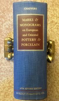 Marks & Monograms on European and Oriental Pottery & Porcelain