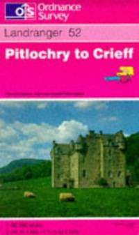 image of Pitlochry to Crieff (Landranger Maps)