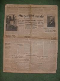 Oregon Daily Emerals, UNIVERSITY OF OREGON, EUGENE, THURSDAY, DECEMBER 2, 1937