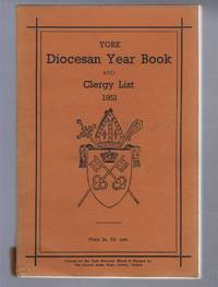 Diocese of York Year Book and Clergy List 1953 (Diocesan Year Book)