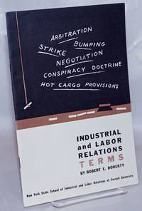 image of Industrial and labor relations terms: a glossary for students and teachers