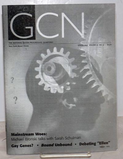 Boston: GCN, 1997. Magazine. 56p. includes covers, 8.25x10.75 inches, articles, opinion, reviews, ne...