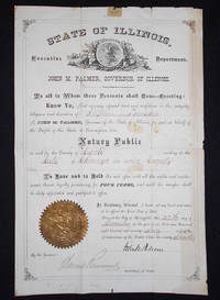 image of Commission of Stephen J. Towson as Notary Public of Cook County, Illinois