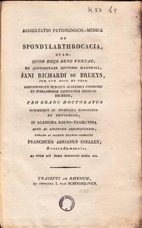 Dissertatio Pathologico-Medica de Spondylanthrocacia