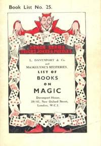 Book List No. 25 of Books on Magic. Demon Series Tricks, Jokes & Puzzles