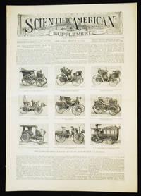 image of Scientific American Supplement -- No. 1023, Aug. 10, 1895 [the Paris-Bordeaux-Paris race]