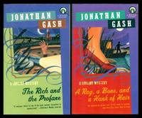 THE RICH AND THE PROFANE - with - A RAG, A BONE, AND A HANK OF HAIR - Lovejoy Narratives by  Jonathan (pen name used by John Grant - also writes as Graham Gaunt) Gash - Paperback - First Paperback Printings - 2000 - from W. Fraser Sandercombe (SKU: 222827)
