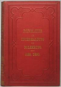 Jugendblätter für Unterhaltung und Belehrung... Jahrgang 36 by BRAUN, Isabella (gegrundet) - 1890