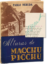 image of Alturas de Macchu Picchu [The Heights of Macchu Picchu] (Signed Limited Edition)