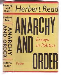 image of Anarchy and Order: Essays in Politics