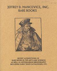 Catalogue 22/n.d.: Arts and Sciences, Antiquarian Bibliography Incl. Early  Sales Catalogues, ...