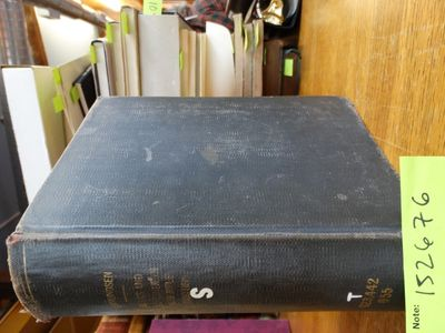 New York: Funk & Wagnalls Company, 1915. Hardcover. Good-, clean contents but with some age toning t...