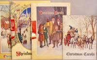 image of Four pamphlets: Christmas Carols.