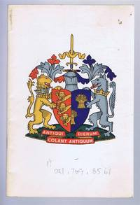 Guide to the Charters, Plate and Insignia of the City of Chester