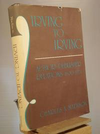 Irving to Irving: Author-publisher Relations, 1800-1974