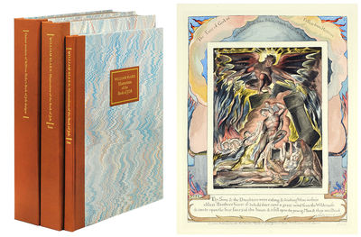 Folio. London: The William Blake Trust, 1987. Folio, two large slipcases, the first housing the text...