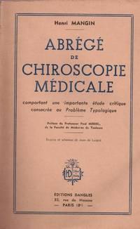 Henri Mangin. Abrégé de chiroscopie médicale : Comportant une importante...