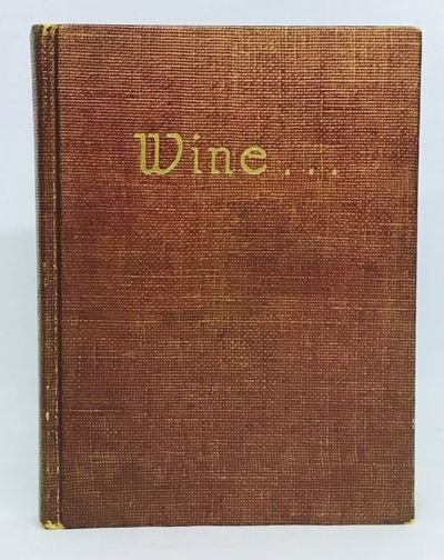 Chicago, n.d., but 1936. Hardcover. Maroon simulated cloth, gilt title. Near fine. 103 pages. 15.5 x...