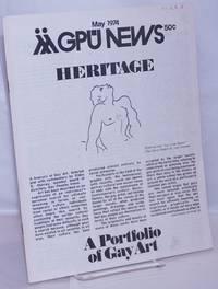 image of GPU News [vol. 3, #8] May 1974: A Portfolio of Gay Art