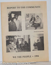 image of Alive & Kicking: the newsletter & calendar of We the People Living With AIDS/HIV of the Delaware Valley; vol. 4, #4, December, 1994: Report to the Community