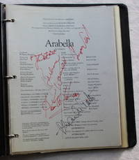 Album of pages mostly from San Francisco Opera programs with approximately  80 signatures of performing artists