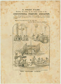 """Free Pass... Constitutional Purifying Association"" by COPPERHEADS - 1864 - from Seth Kaller, Inc. (SKU: 21986.03)"