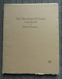 image of A SOUVENIR OF SHAKESPEARE'S MERCHANT OF VENICE. AS PRESENTED BY DAVID BELASCO AT THE LYCEUM THEATRE, NEW YORK, DECEMBER 21, 1922.